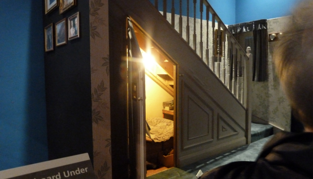 Sottoscala di Harry Potter a casa Dursley - WB Studio Tour London