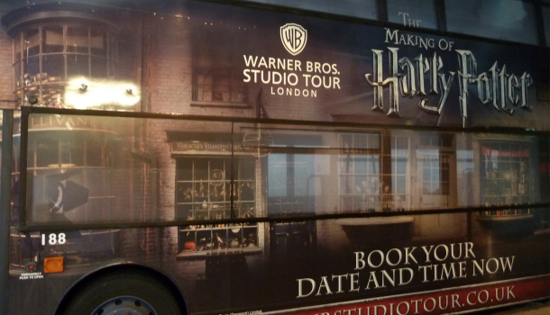 Golden Tour - WB Studio Tour London