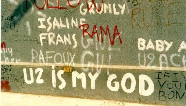Muro degli U2 a dublino