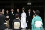 Matrimonio scintoista al Tempio Meiji