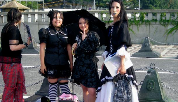 harajuku girls a tokyo