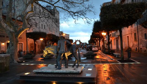 Piazza di Pitigliano