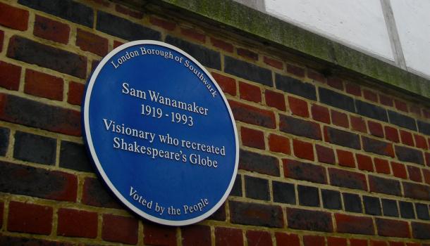 Insegna a Sam Wanamaker
