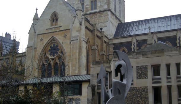 Southwark Cathedral ingresso