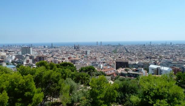 Barcellona da Park Guell