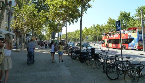 biciclette a Barcellona