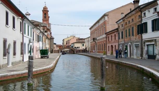 canale maggiore a Comacchio