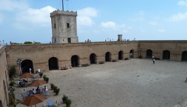castello di montjuic