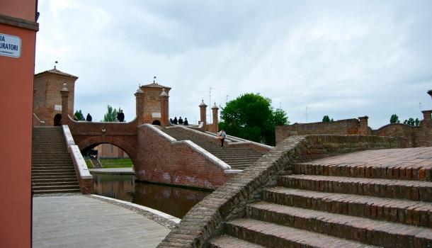 Ponte dei Trepponti a Comacchio