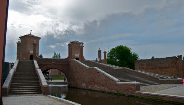 Il Ponte dei Trepponti a Comacchio