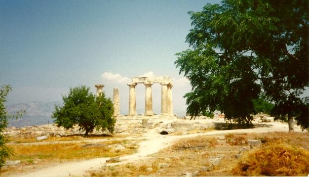 colonne tempio di apollo