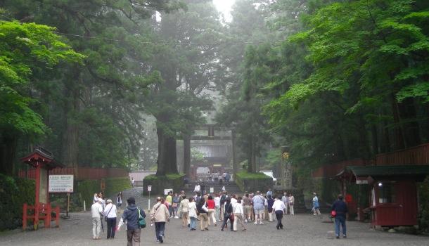 ingresso al santuario di nikko