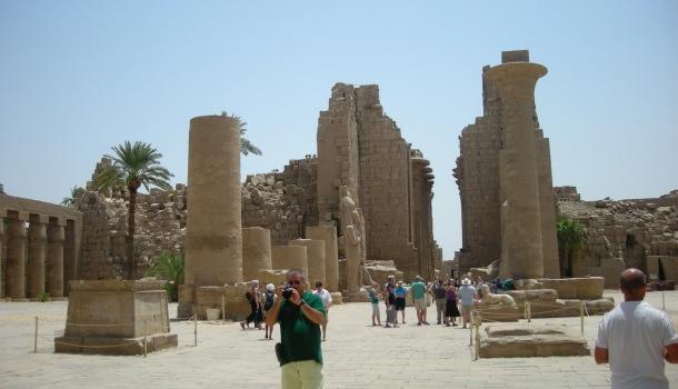 le rovine di karnak