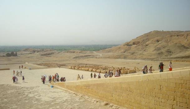 luxor e il tempio di hashepsut