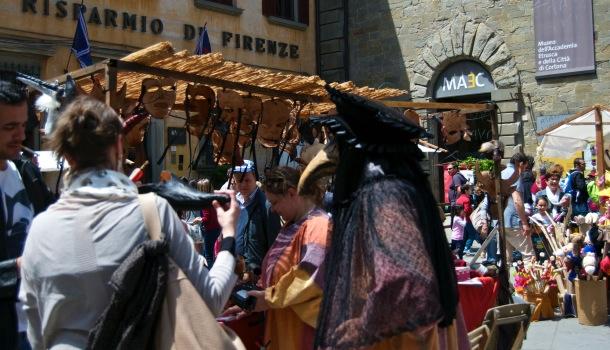 mercatino medioevale giostra dell'archidado
