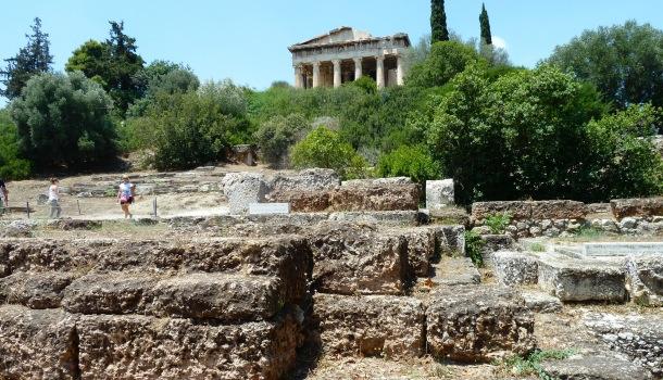 Efestaion e Tempio di Zeus