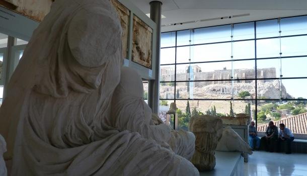 Marmi del Partenone al Museo dell'Acropoli