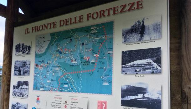 fronte delle fortezze austroungariche