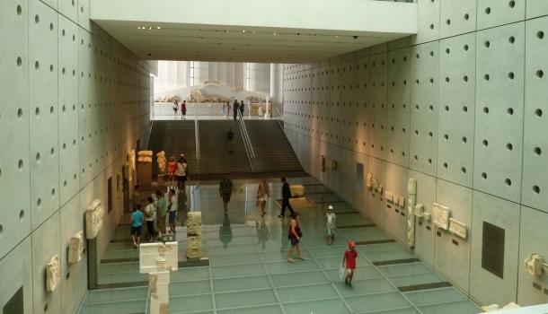 ingresso museo dell'acropoli