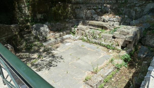 recinto della fonte castalia