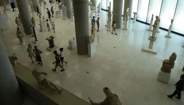 sala museo acropoli