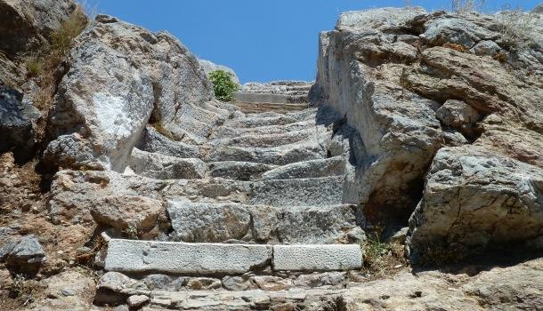 scalinata per aeropago