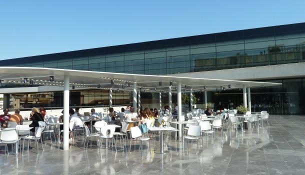 terrazza museo acropoli atene