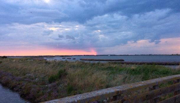 tramonto a comacchio