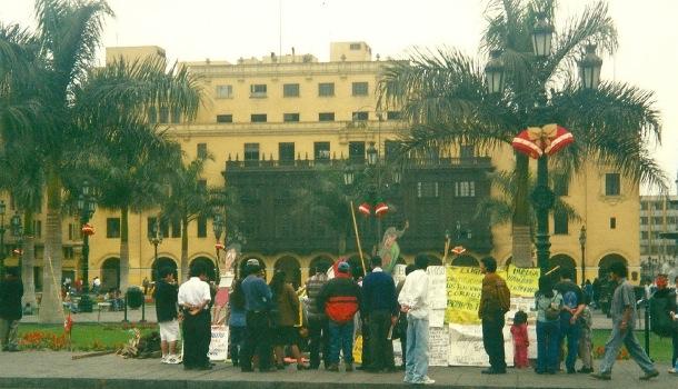 presidio protesta