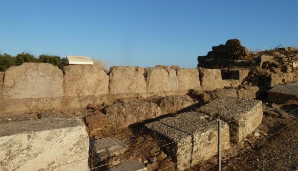 fortificazioni a capo sunio