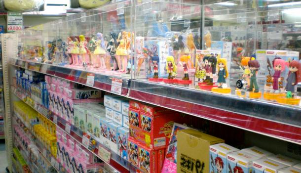 negozi di gadget a Tokyo