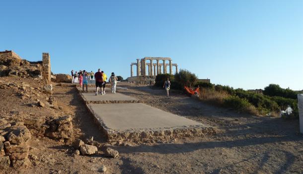 sito archeologico a capo sunio
