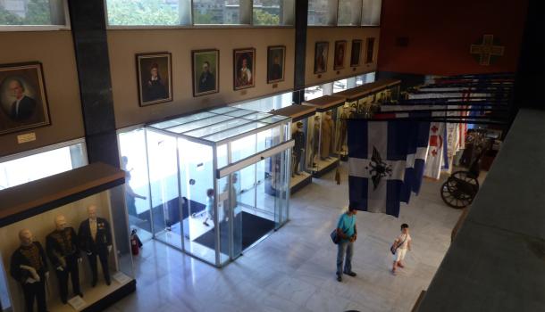 ingresso al museo della guerra di atene