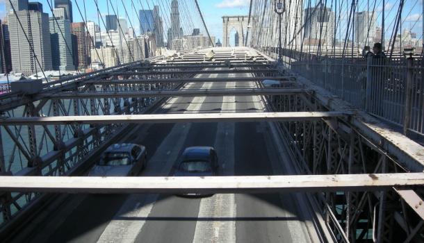 ponte di brooklyn_corsia auto
