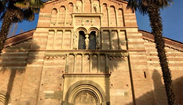 facciata di Vezzolano
