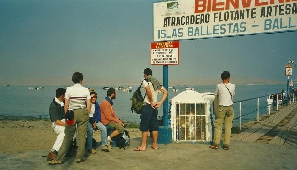 imbarco tour riserva paracas