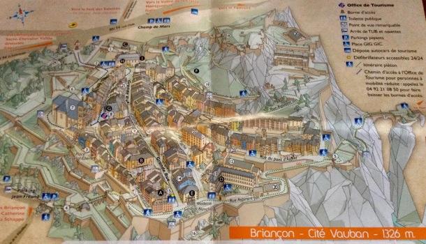 mappa briançon