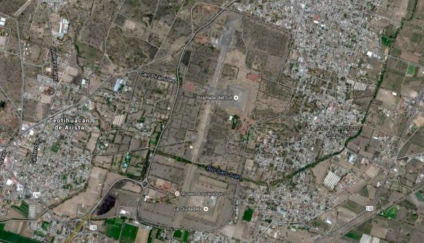 mappa teotihuacan