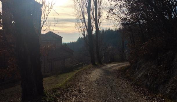 sentiero per vezzolano