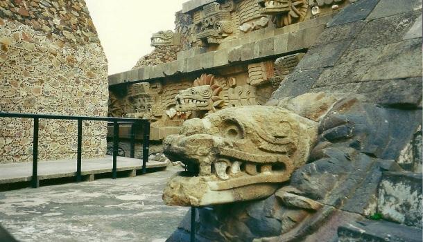 tempio del serpente piumato