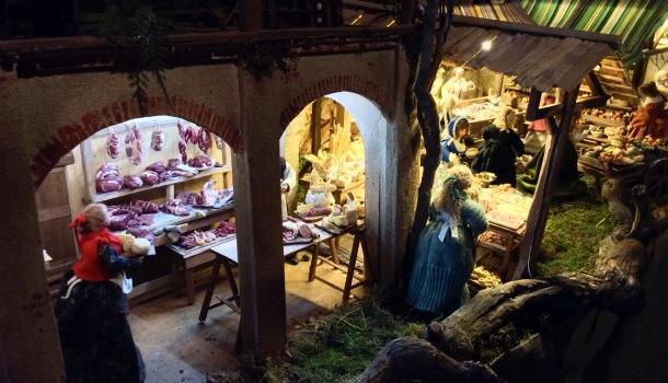 villaggio del presepe di vezzolano