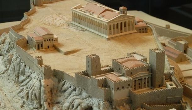 acropoli atene nel corso dei secoli