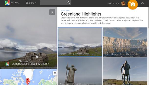 groenlandia con google street view