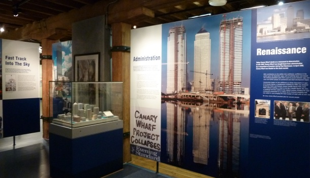 canary wharf e docklands_museum of london docklands