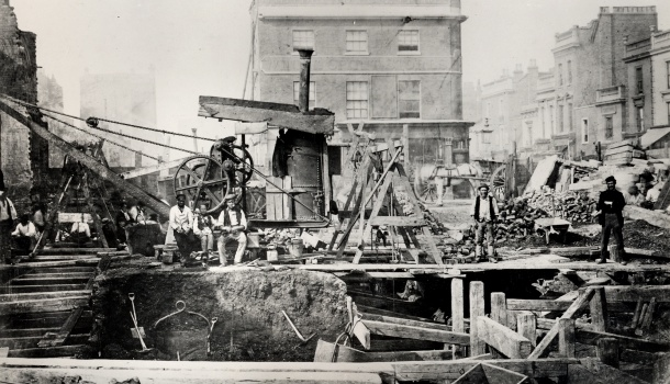 LRG_IMG_109_-Cut_and_cover_construction_at_Praed_Street_Paddington_london_transport_museum