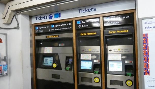 biglietterie metro londra