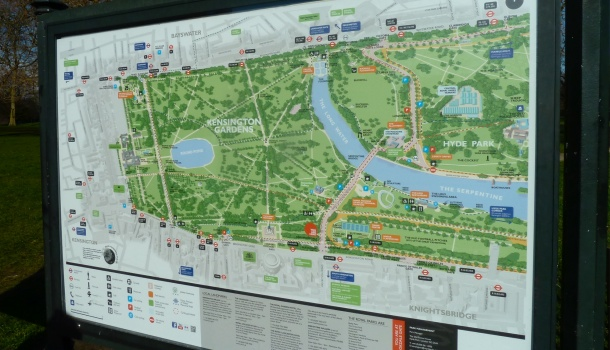 hyde park e kensington gardens