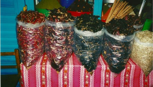 peperoncini mercato oaxaca