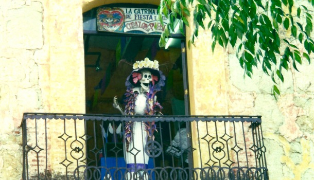 scheletro a Oaxaca