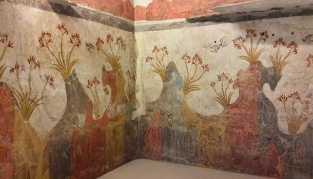 affreschi antica thera